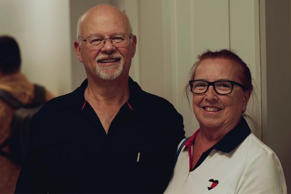 Paul Leslie and Barb MacLellan