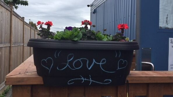 Planter with Love