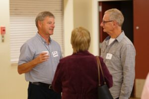 Members chat at 2019 AGM