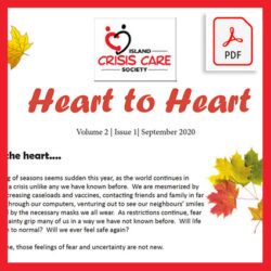 ICCS Heart to Heart newsletter vol 2 issue 1