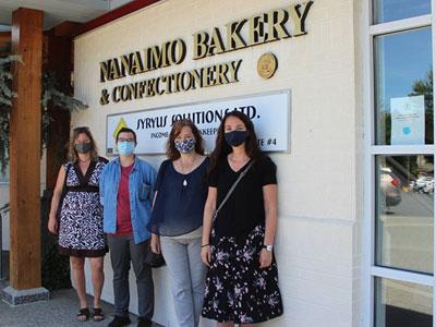 Nanaimo bakery purchase