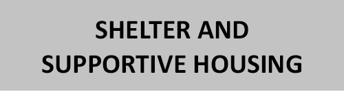 shelter and supportive housing Nanaimo